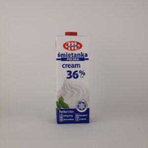 állati tejszín 36%