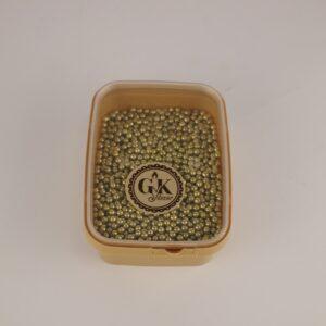 arany cukorgyöngy 4 mm
